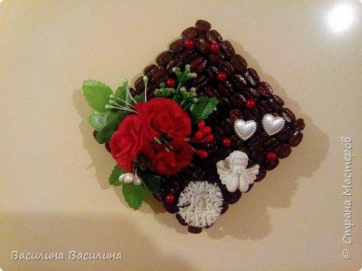 Магниты на холодильник из кофейных зерен фото 1