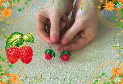Ягода малинка своими руками из бусины и бисера/видео-урок