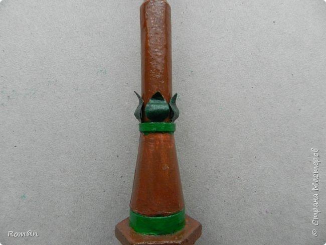 Добрый день жители Страны Мастеров.Представляю вам часть работы дома-тыквы,уличный фонарь и дерево,скамейку вы уже видели.Это небольшой скверик перед домом-тыквой. фото 26