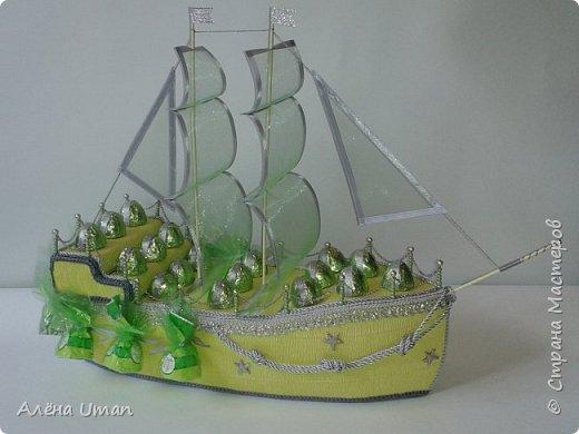 Очень захотелось мне корабль построить,и нашелся повод,день рождение друга! фото 1