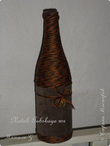 Стильная бутылка с денежкой фото 2