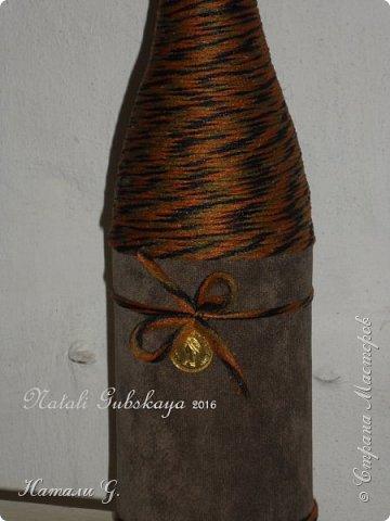 Стильная бутылка с денежкой фото 3