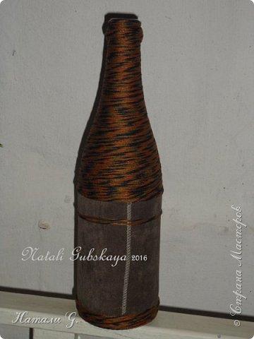Стильная бутылка с денежкой фото 4
