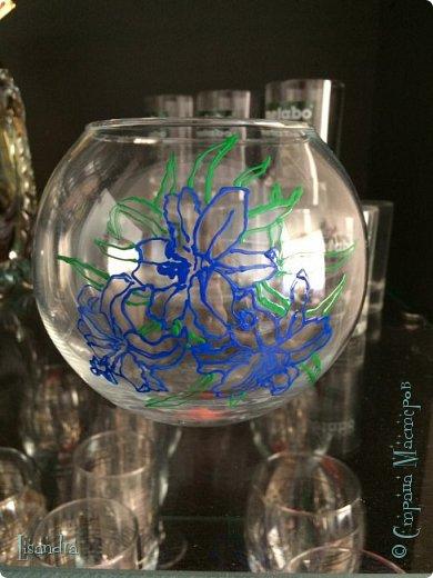Самый первый бокал и первые цветочки. фото 8