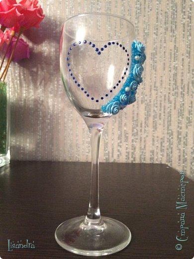 Самый первый бокал и первые цветочки. фото 6