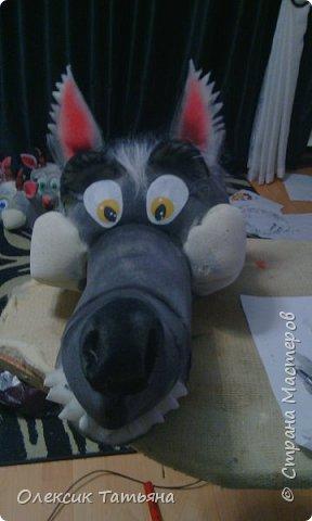 Маска Волк фото 1
