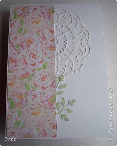 Сегодня хочу показать, как я потрудилась в первые дни лета. Одна свадебная открытка и три на дни рождения.  Бумага из свадебного набора от Скрапберис. фото 9