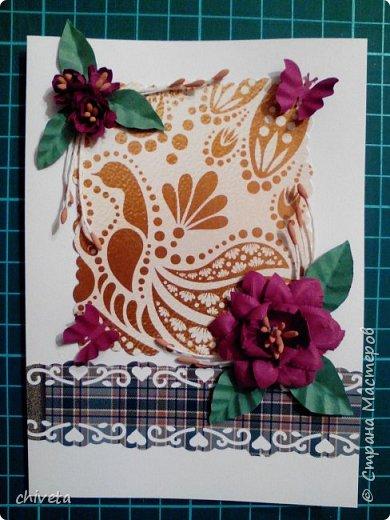 Еще конвертики и открытки. фото 11