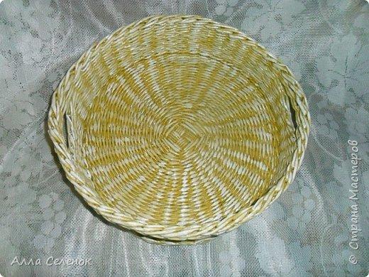 Продолжение моих плетеных подарков. Поднос прямоугольный. Водная морилка мокко разбавленная водой 1* 1,5. фото 6