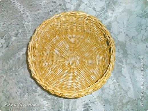 Продолжение моих плетеных подарков. Поднос прямоугольный. Водная морилка мокко разбавленная водой 1* 1,5. фото 12