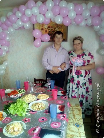 3 июня мы праздновали юбилей нашей семьи -10 годовщину свадьбы. Готовились с мужем основательно. фото 1