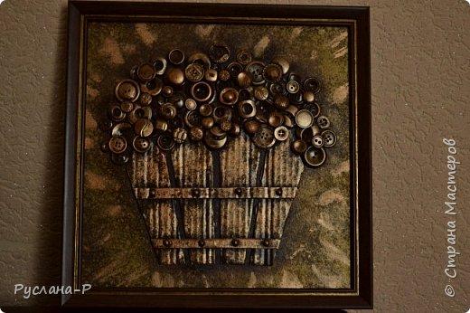 """Вдохновила меня работа мастерицы Селена 28 https://stranamasterov.ru/user/389376. Целый год пустовала одна стена, пока не попалась  мне на глаза  ключница """"Палисадник"""". фото 1"""