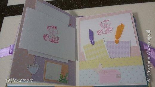 Добрый день! Сегодня хочу показать вам детские наборчики! Писать не буду, просто посмотрите)  Папочка для первых документов, альбомчик и сокровищница)   фото 9