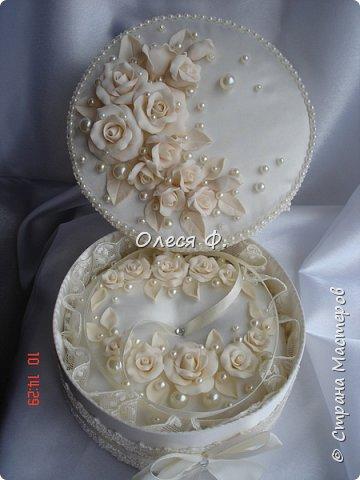 """Добрый день!!!   Свадебный комплект в нежном и благородном цвете  """"Ivory"""". Очень люблю этот цвет. Всегда радуют подобные заказы.  фото 5"""