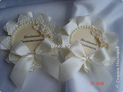 """Добрый день!!!   Свадебный комплект в нежном и благородном цвете  """"Ivory"""". Очень люблю этот цвет. Всегда радуют подобные заказы.  фото 10"""