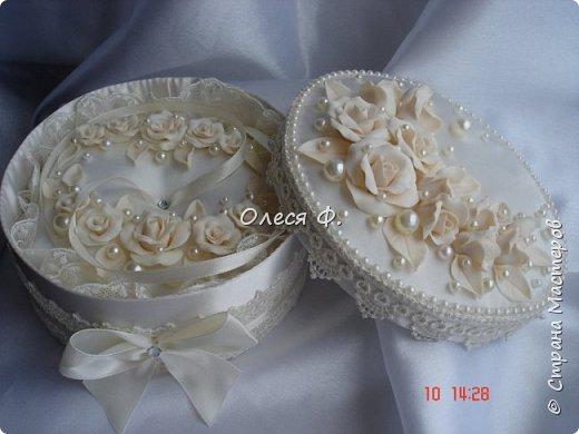 """Добрый день!!!   Свадебный комплект в нежном и благородном цвете  """"Ivory"""". Очень люблю этот цвет. Всегда радуют подобные заказы.  фото 3"""