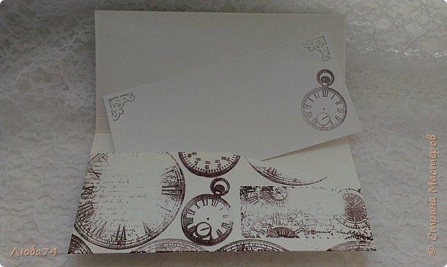 Добрый день, жители Страны Мастеров! Сегодня покажу два мужских конверта. Этот конверт делала для папы. фото 17