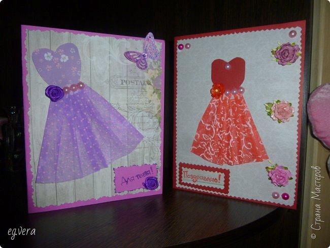 Вот такие получились открыточки)) фото 1