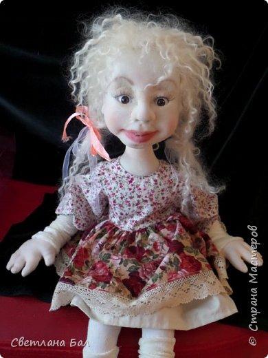 Кукла из капрона фото 1