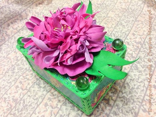Доброго времени суток всем!)) Родился у меня тут Ларец желаний в качестве подарка на День варенья. Приглашаю посмотреть!)) фото 8