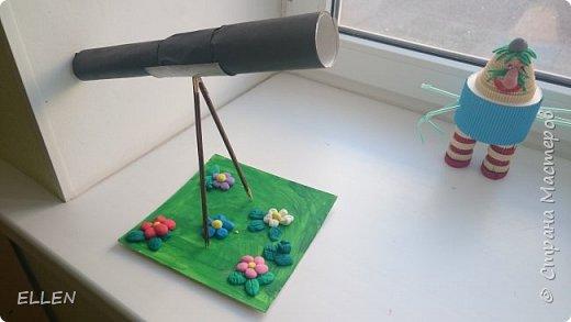 """Добрый день!  Хочу показать вам работы дошкольников на тему """"Космос"""". Работы были сделаны к конкурсу, посвященному Дню космонавтики! фото 3"""