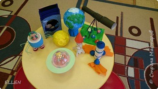 """Добрый день!  Хочу показать вам работы дошкольников на тему """"Космос"""". Работы были сделаны к конкурсу, посвященному Дню космонавтики! фото 2"""