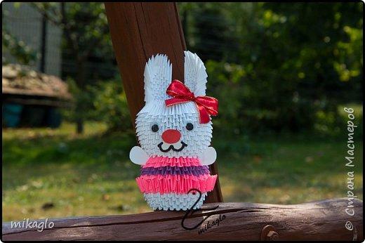 3d origami bunny girl фото 1