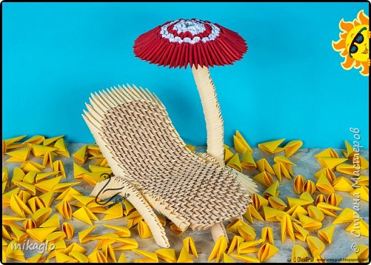 Origami 3d summer time фото 2