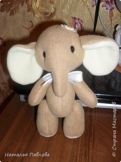 Флисовые слоники фото 2
