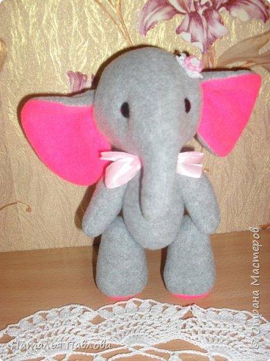 Флисовые слоники фото 4