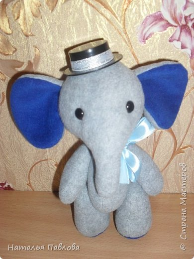 Флисовые слоники фото 3