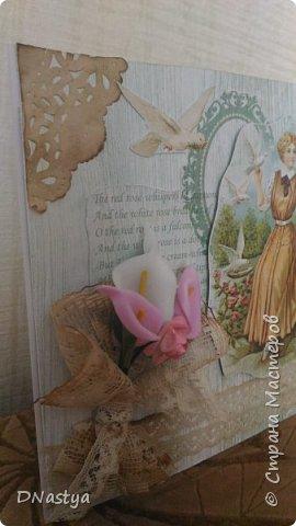 И так, уважаемые гости, предлагаю вашему вниманию мою новую открытку под номером два :) фото 2