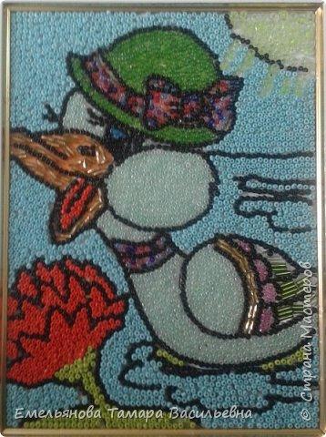 Мозайка из бисера фото 4
