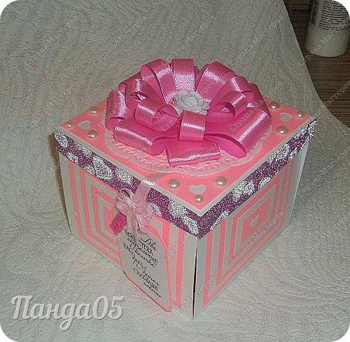 """Продолжается у меня тема волшебных коробочек с сюрпризом,Magic Box... Очередной заказик к свадьбе Романа и Алены. В фантазии и цвете не ограничивали. Просматривала тут работы наших мастериц и понравились мне лебеди Зульфии Дадашовой  http://stranamasterov.ru/node/590968  . Шаблона она не выкладывала,но мне же очень надо,а рисовать я сама не умею))) Пришлось по  ее фотографии в обычном """"Пэйнте"""" нарисовать себе шаблон..Распечатала и вырезала из плотной бумаги.В итоге каждый лебедь получился микроскопическим,размером 3 на 3 см))  фото 1"""