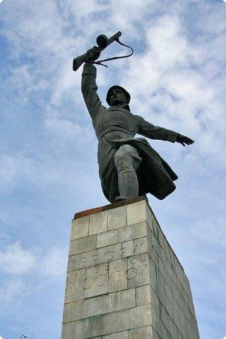 """Макет памятника """"Перемиловская высота"""", делала для поселковой библиотеки. фото 5"""