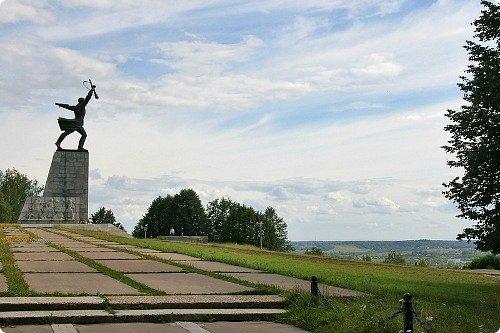 """Макет памятника """"Перемиловская высота"""", делала для поселковой библиотеки. фото 6"""