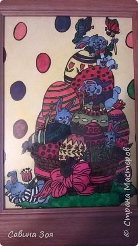 Моя сестра живёт в Москве и рисует вот такие замечательные рисунки, потом вставляет их в раму и получаются красивые картины - прекрасное решение для украшения интерьера. Мне очень нравится)))) фото 3