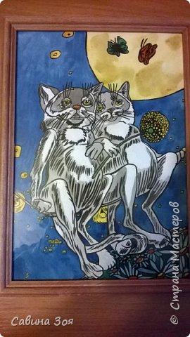 Моя сестра живёт в Москве и рисует вот такие замечательные рисунки, потом вставляет их в раму и получаются красивые картины - прекрасное решение для украшения интерьера. Мне очень нравится)))) фото 4