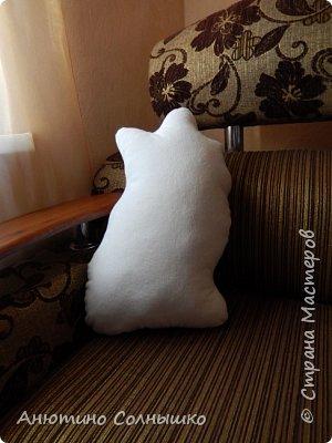 """Добрый вечер!!! Подушка """"собачка Шпиц"""". Размеры 49 на 30 см. фото 3"""