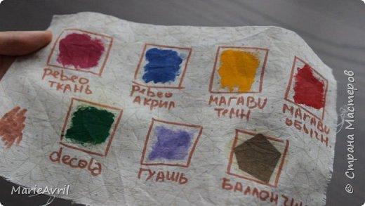 Какую краску для ткани брать? фото 1