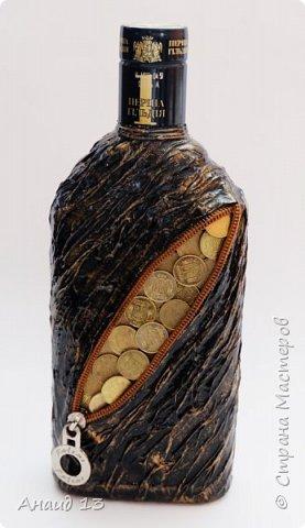 Бутылочка первая, сотворила благодаря МК мастеров Страны фото 3