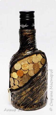 Бутылочка первая, сотворила благодаря МК мастеров Страны фото 2