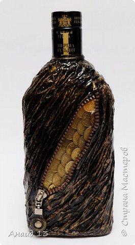 Бутылочка первая, сотворила благодаря МК мастеров Страны фото 1