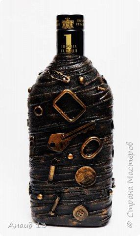 Бутылочка первая, сотворила благодаря МК мастеров Страны фото 4