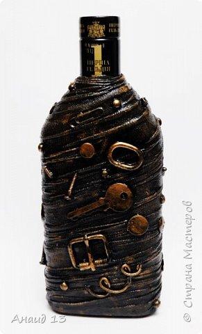 Бутылочка первая, сотворила благодаря МК мастеров Страны фото 5