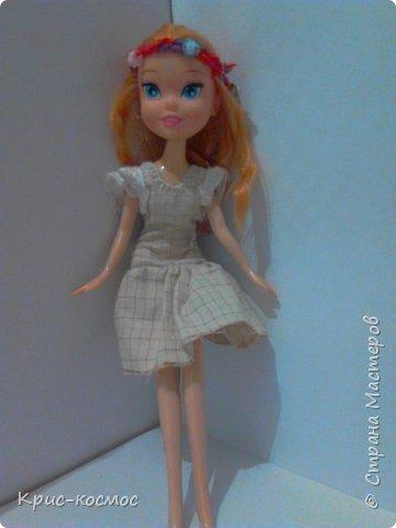 Здравствуй, страна мастеров! Я почти не рассказывала о Белле. И так, в этом блоге м поподробнее рассмотрим то,что я шила для Беллы (можно просто Белки). Все что на фото самодельное. На первом фото голубое платье. Его я только сегодня сшила. фото 4
