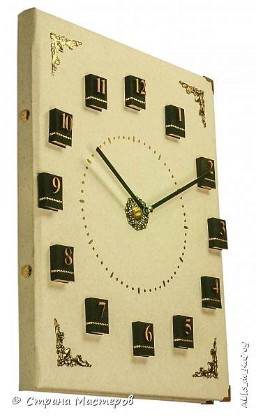 Настенные часы из книги! Новая работа. фото 2