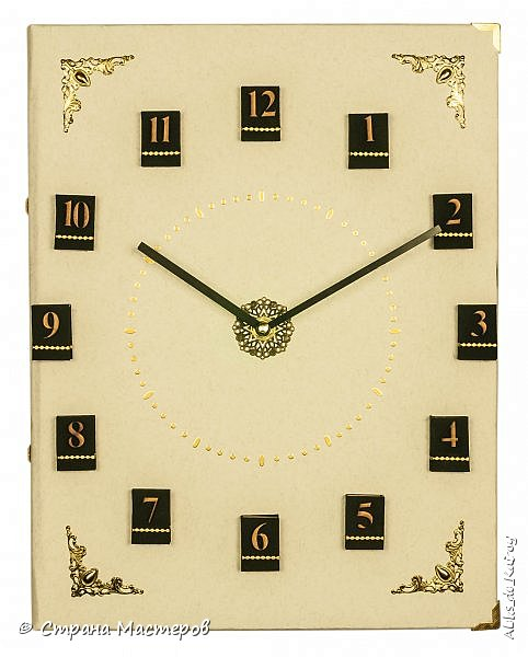 Настенные часы из книги! Новая работа. фото 1