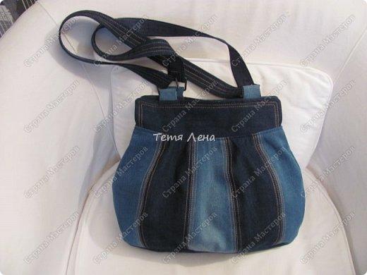 Сумочка джинсовая фото 1