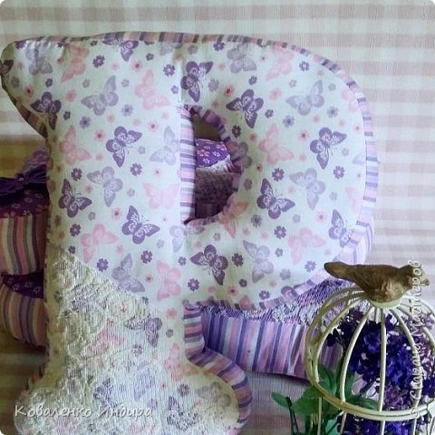 Подушка буква!  фото 1